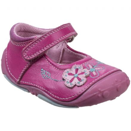 HUSH PUPPIES Lara Velcro Toddler Shoe (Pink) 19 only!